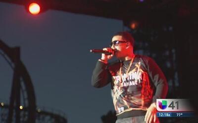 Daddy Yankee en Six Flags