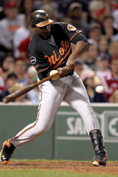 DH. Vladimir Guerrero. Orioles de Baltimore. En el 2011, 'Vlad' tiene un...