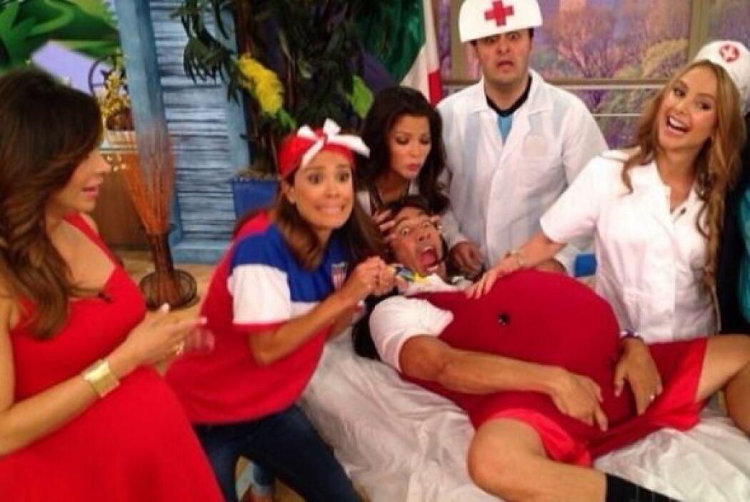 """""""Nuestro plan de emergencia por si @satchapretto entra en labor de parto..."""