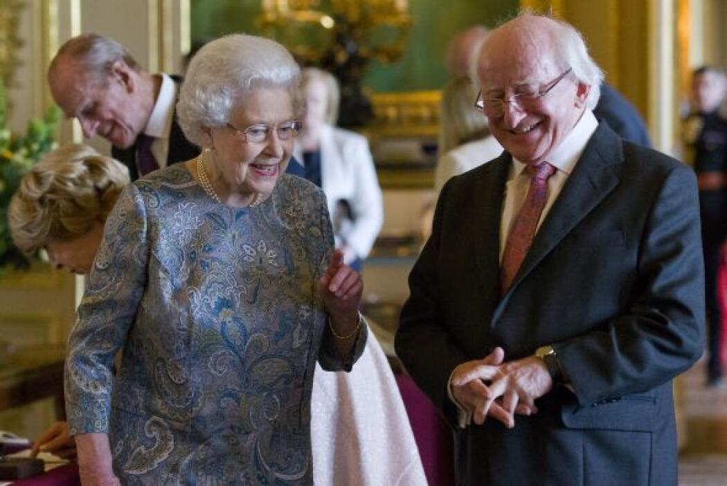 El presidente y su esposa, Sabina, pasarán tres noches en el palacio de...