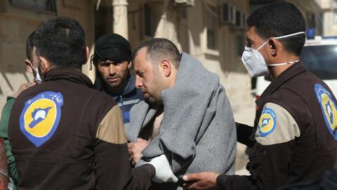 Al menos 70 muertos dejó el presunto ataque químico en Siria
