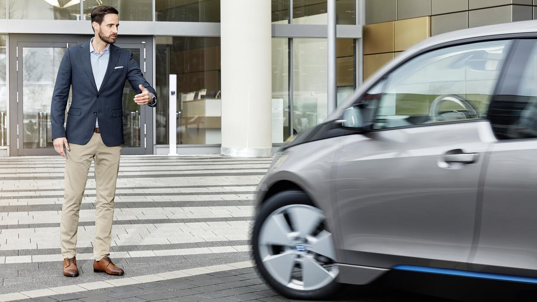BMW i3 controlado por gestos