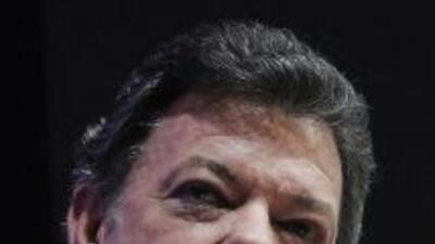 Juan Manuel Santos dijo que circulan muchas versiones sobre la presencia...