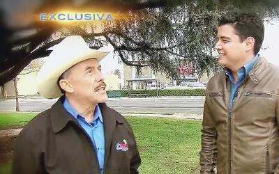 Don Pedro Rivera fue a los campos de 'pizca' donde trabajó