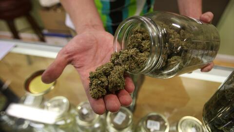 Marihuana medicinal.