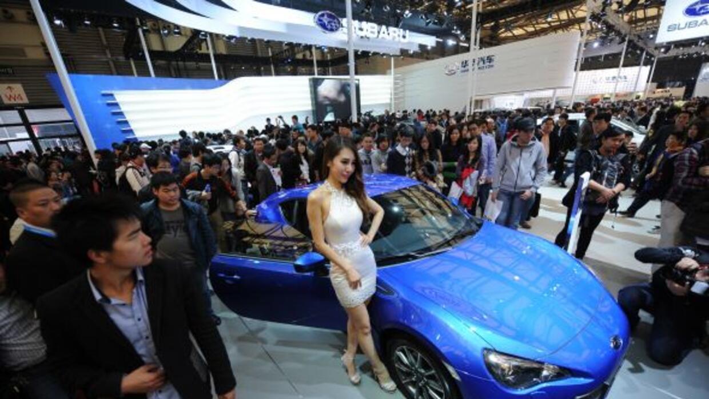 Los organizadores del Autoshow de Shanghai decidieron prescindir de las...