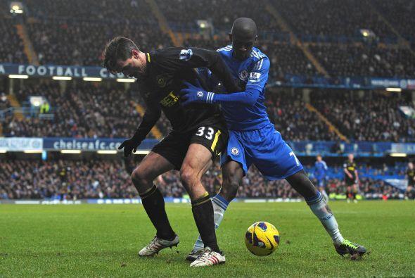 El Chelsea porfin volvió  a ganar y lo hizo con contundencia sobre el Wi...