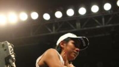 Arely consiguió el triunfo por decisión dividida ante Melissa (Foto: HG...