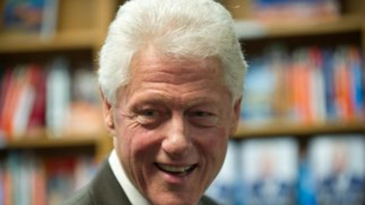 El ex presidente de Estados Unidos, Bill Clinton.