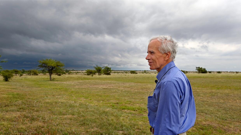 Douglas Tompkins en una foto tomada en 2009