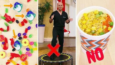 Estos son los artículos y comidas más peligrosas para los niños