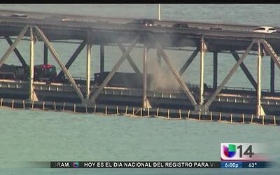 Incendio en puente desata pesadilla vial