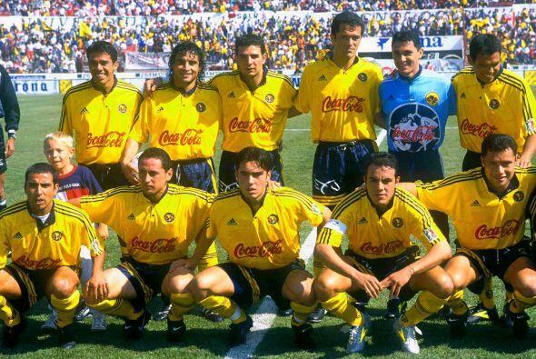 En el Verano 2000 América llegaba a la final ante Necaxa, en ese momento...