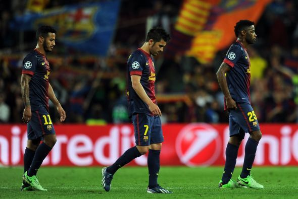 El silbatazo final se escuchó en el Camp Nou y la tristeza invadió a tod...