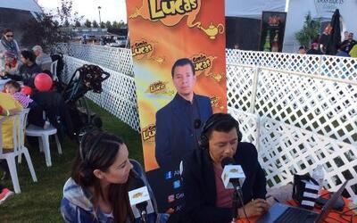 """Alex """"El Genio"""" Lucas estuvo en Albuquerque International Balloon Fiesta."""