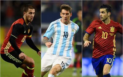 Bélgica, Argentina y España encabezan ranking FIFA