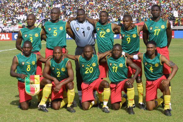 Fue en la Copa Africana de Naciones del 2002 cuando Camerún, patrocinado...
