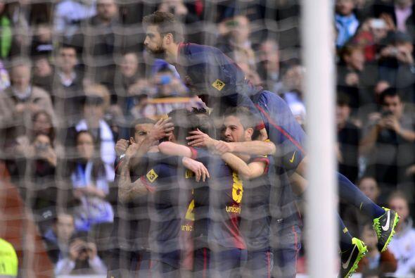El Barcelona revivía y parecía que podía reaccionar.