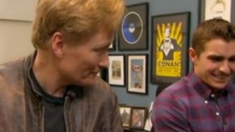 Conan O'Brien and Dave Franco on Tinder