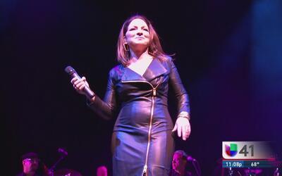Gloria Estefan y su orquesta Miami Sound Machine deslumbraron en Broadway