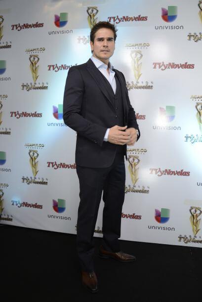 Aunque tiene gran competencia. Daniel Arenas está nominado por Me...