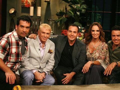 El zar de la belleza, Osmel Souza y Lupita Jones visitaron Noche de Perros