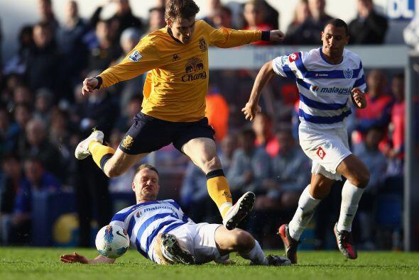 Everton y Queens Park repartieron puntos en el 1 a 1.