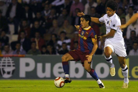 Por su parte, el Barcelona visitó el campo del Ceuta, un equipo d...