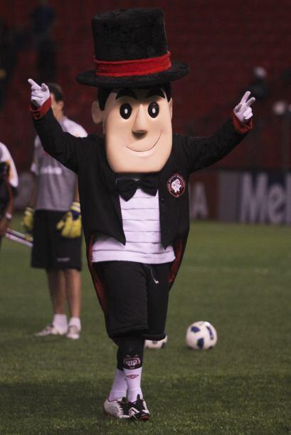 ¿Y este otro? Es la mascota del Paranaense que juega en el Brasil...