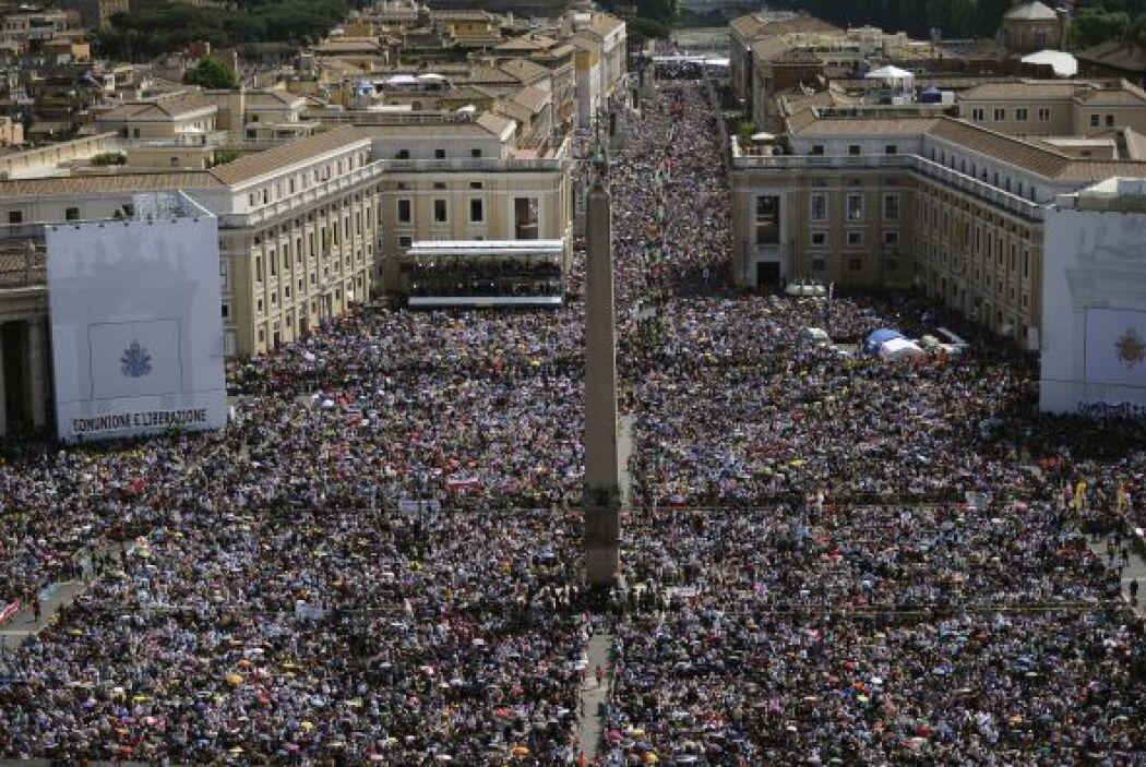 La misma Roma parecía invadida por polacos que se alegraron de que su pa...