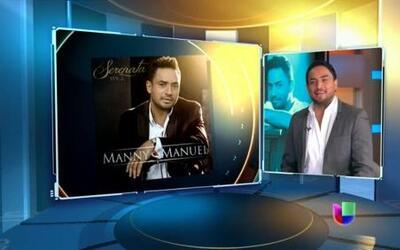 Manny Manuel vuelve a cantar a los boleros en la semana del amor