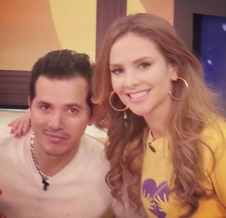 """""""Qué gran actor nos visita en @DespiertaAmeric el espectacular @johnlegu..."""