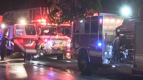 Se registra incendio al noroeste de San Antonio que deja un menor muerto