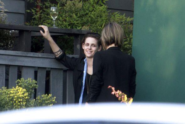 La actriz y Alicia acudieron a una fiesta.