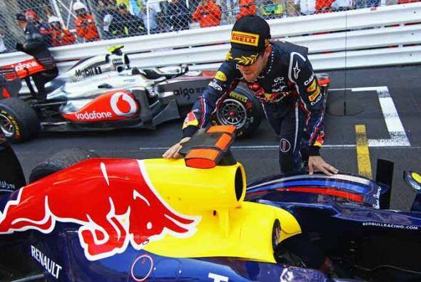 Vettel tiene el mejor auto de la temporada 2011 y sabe agradecerlo.