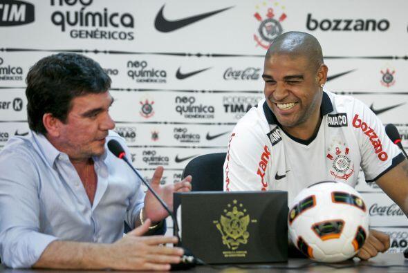 Andres Sanches, presidente del Corinthians también le dedic&oacut...