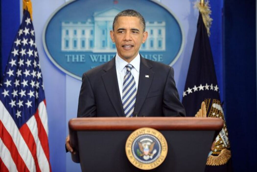 """""""No tenemos tiempo para este tipo de tonterías"""", dijo Obama, añadiendo q..."""