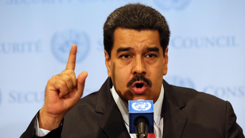 Maduro habla en las Naciones Unidas
