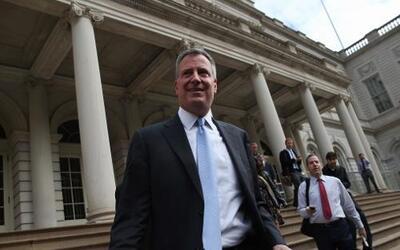 De Blasio aseguró que Donald Trump Jr. será rechazado en NYC.