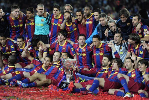El Barcelona se consagró campeón de la Liga de Espa&ntilde...