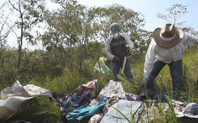 Esta es la fosa clandestina donde encontraron más de 250 cráneos en México