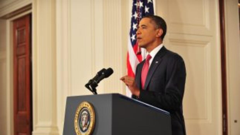 Barack Obama busca el consenso de ambos partidos en el Congreso.