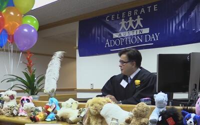 En el día nacional de la adopción 53 niños fueron adoptados formalmente...