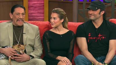 Robert Rodríguez, Alexa Vega y Danny Trejo vuelven al ataque con machete...