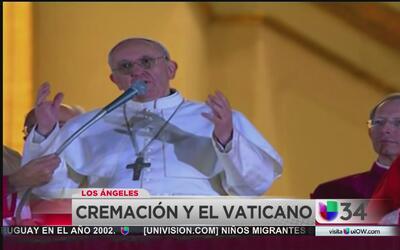 El Vaticano prohíbe conservar las cenizas de los difuntos
