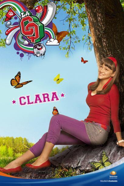 Clara Licona es la nueva. Es dulce y cariñosa, y está eter...