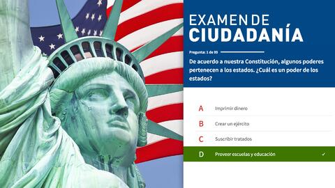Examen de ciudadanía