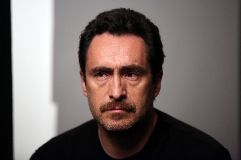 El actor mexicano Demián Bichir, que el año pasado fue uno de los protag...