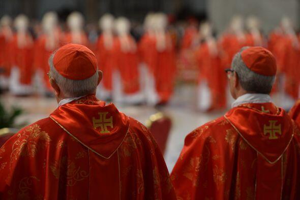 """""""Les exhorto (a los cardenales) a comportarse de manera digna, con toda..."""
