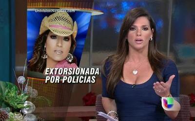 Diana Reyes dice que fue extorsionada por policías el 28 de diciembre en...